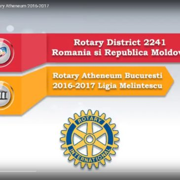 Clubul Rotary Atheneum București 2016-2017